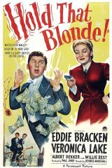 Hold That Blonde ! 1945 DVD - Eddie Bracken / Veronica Lake